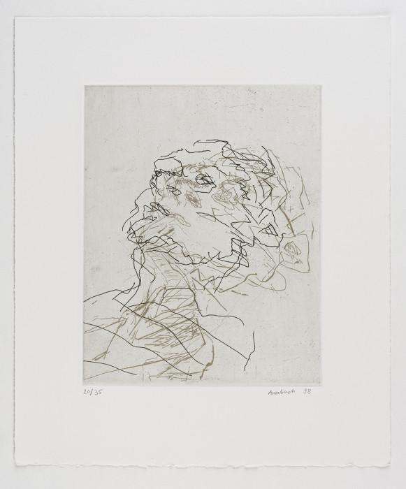 Frank Auerbach. Julia, 1998