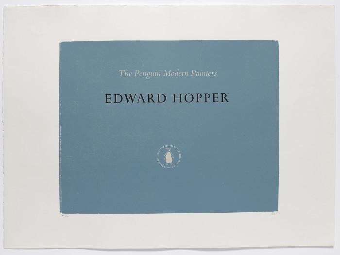 Kitaj, Edward Hopper, 1969-70, colour screenprint, photoscreenprint, edition of 150, 30 1-4 x 22 5-8 in., 77 x 57.5 cm