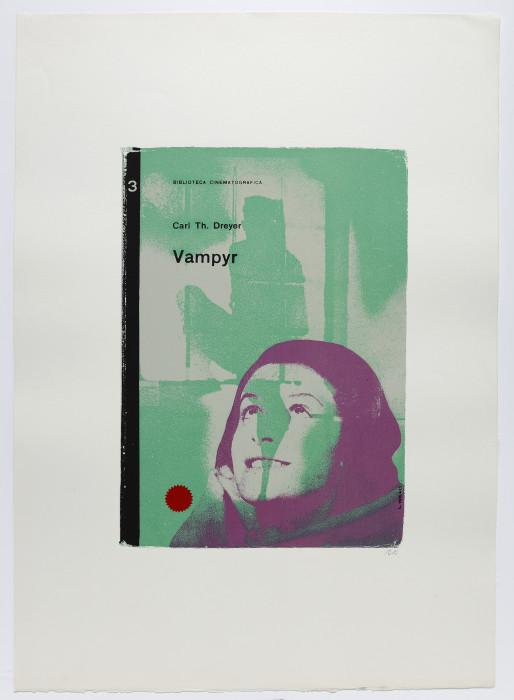 Kitaj, Vampyr, 1969-70, screenprint, edition of 150, 30 3-8 x 22 5-8 in., 77 x 57.5 cm