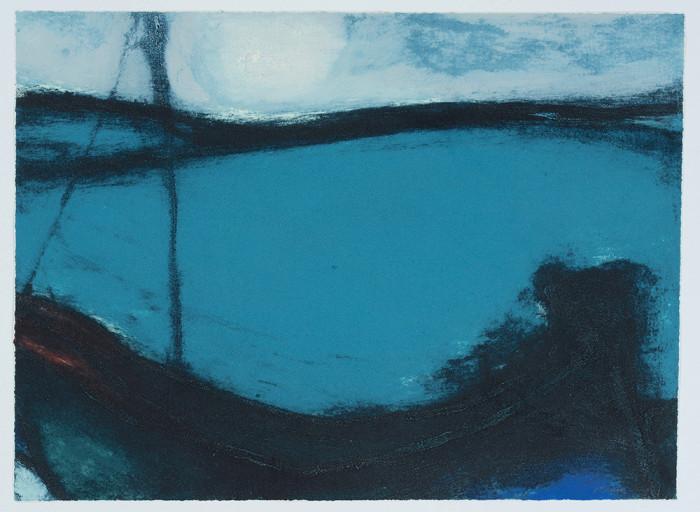 O'Donoghue, Moonlight Marine, 2016, carborundum print, edition of 20, 15 3-4 x 21 7-16 in., 40 x 54.5 cm
